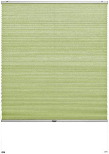 Wabenplissee nach Maß »Rena«, Good Life, Lichtschutz, mit Bohren, verspannt, silberfarbene Profilschiene