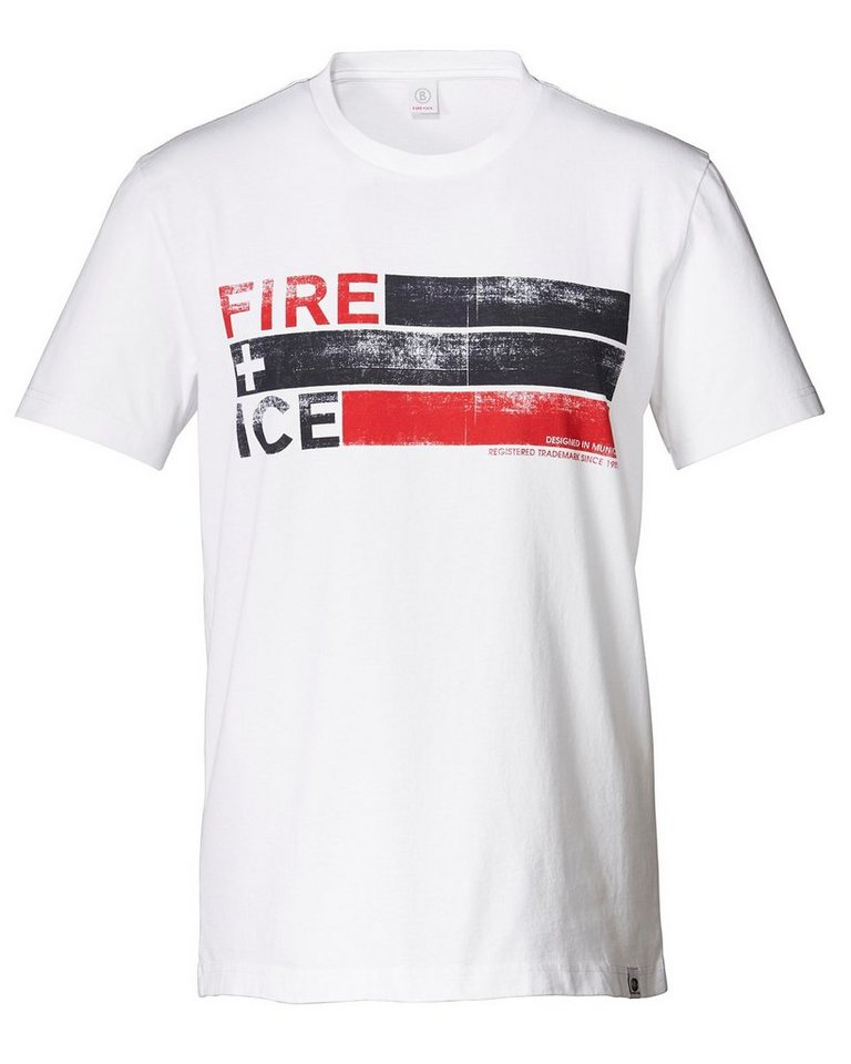 Bogner Fire + Ice T-Shirt Cedric in Weiß