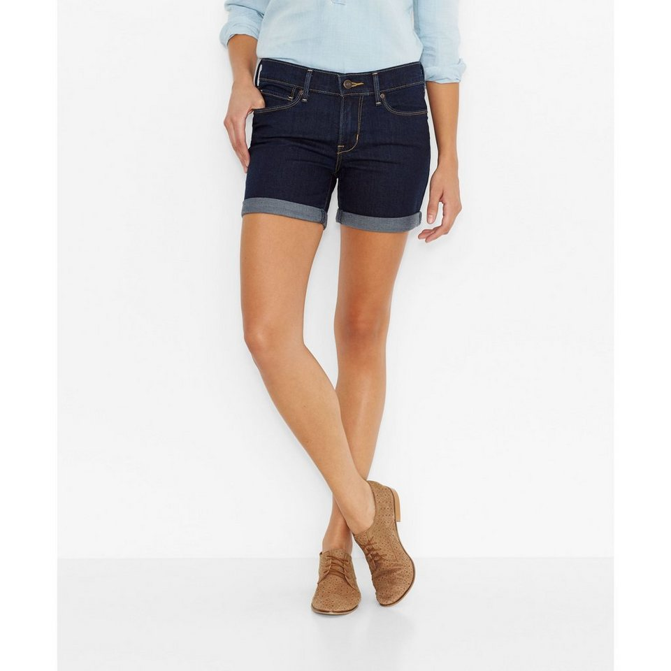 Levi's® Shorts »Cuffed Short« in Ace Rinse