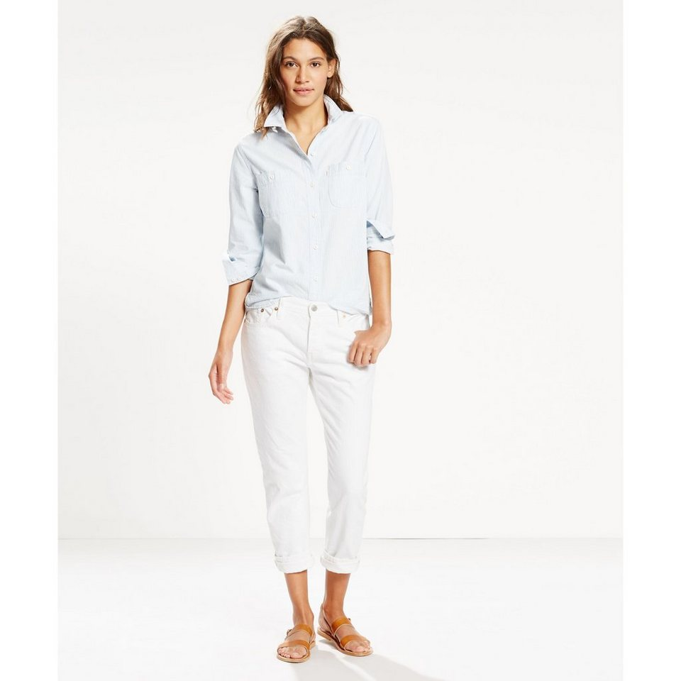 Levi's® Jeans »501® CT Jeans for Women« in Snowdrop Selvedge