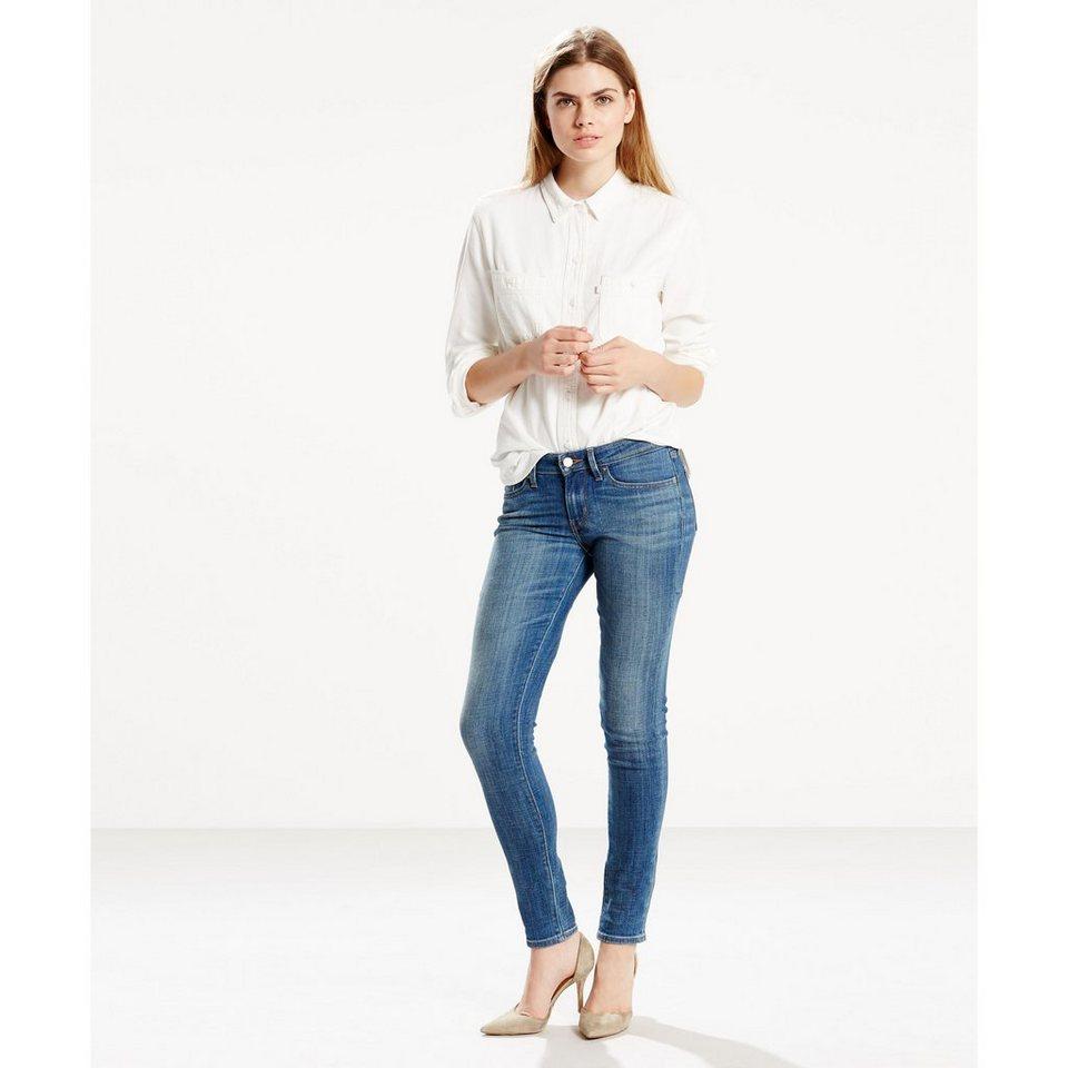 Levi's® Jeans »711 Skinny« in Broadcast Blue