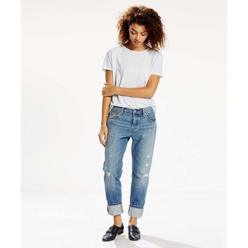 Levi's® Jeans »501® CT Jeans for Women« in Opaque Indigo