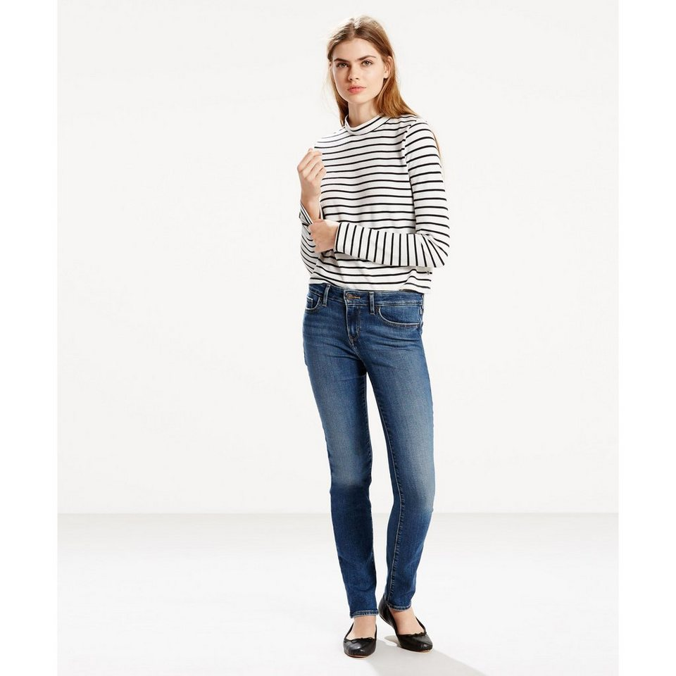Levi's® Jeans »712 Slim« in Indigo Daydream