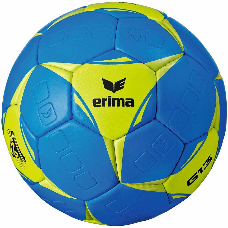 ERIMA G13 Handball in blau/lime