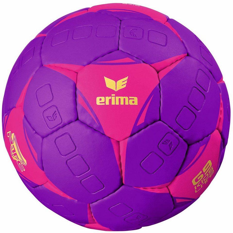 ERIMA G9 Kids Lite Handball in purple/pink