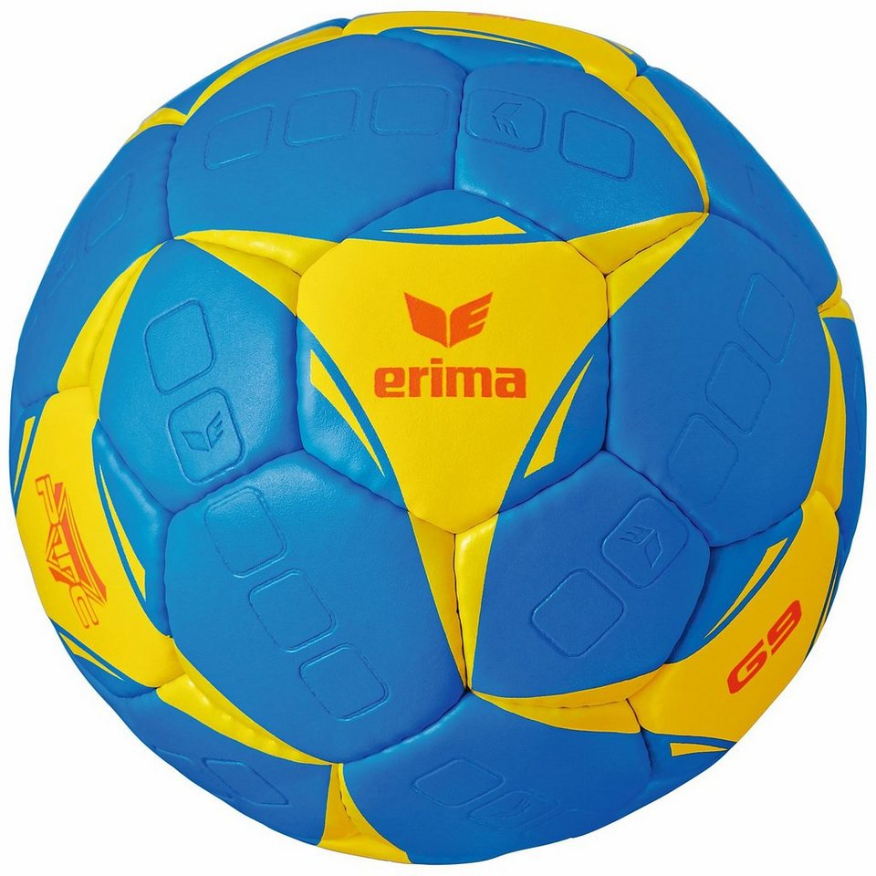ERIMA G9 Handball in blau/gelb