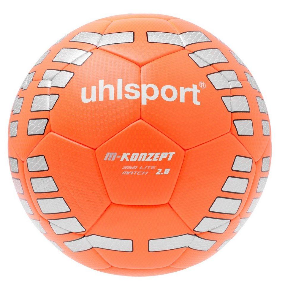 UHLSPORT M-Konzept Lite 350 Match 2.0 Fußball in rot/silber/schwarz