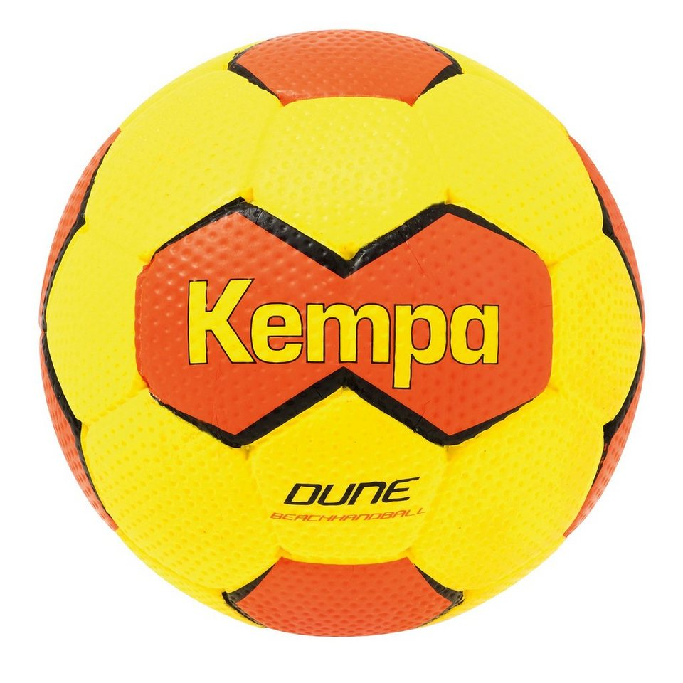 KEMPA Dune Handball in fluo gelb/shockred