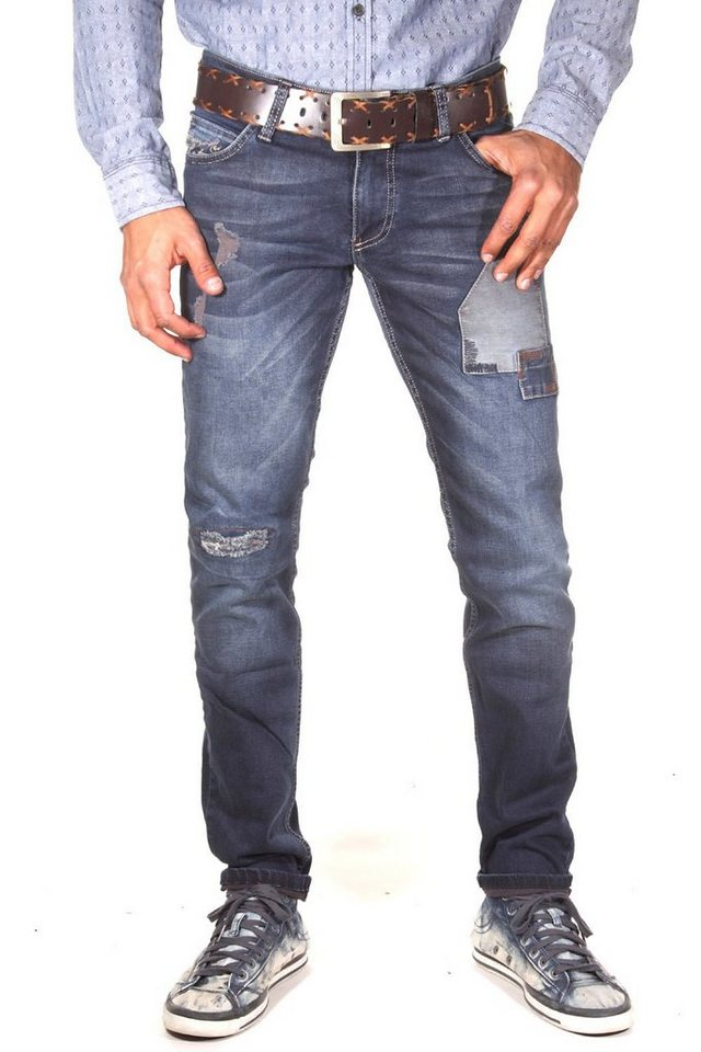 CATCH Stretchjeans slim fit in blau