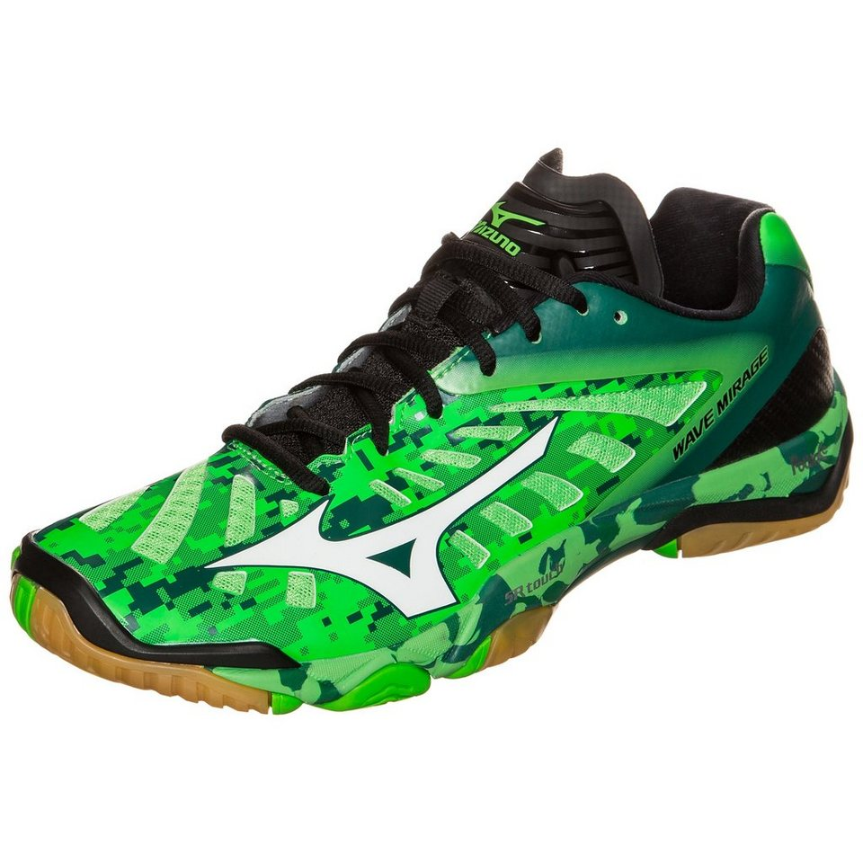 MIZUNO Wave Mirage Handballschuh Herren in neongrün / grün / we