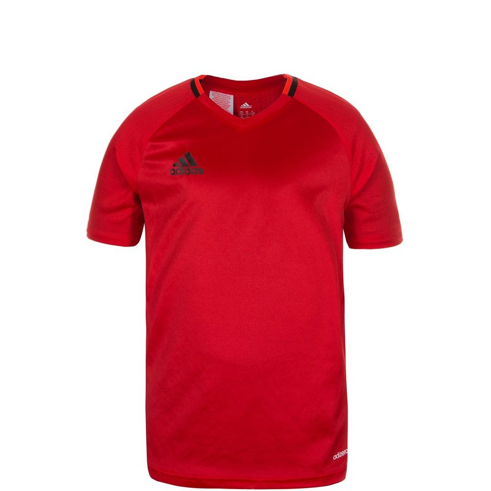 adidas Performance Condivo 16 Trainingsshirt Kinder in rot / schwarz