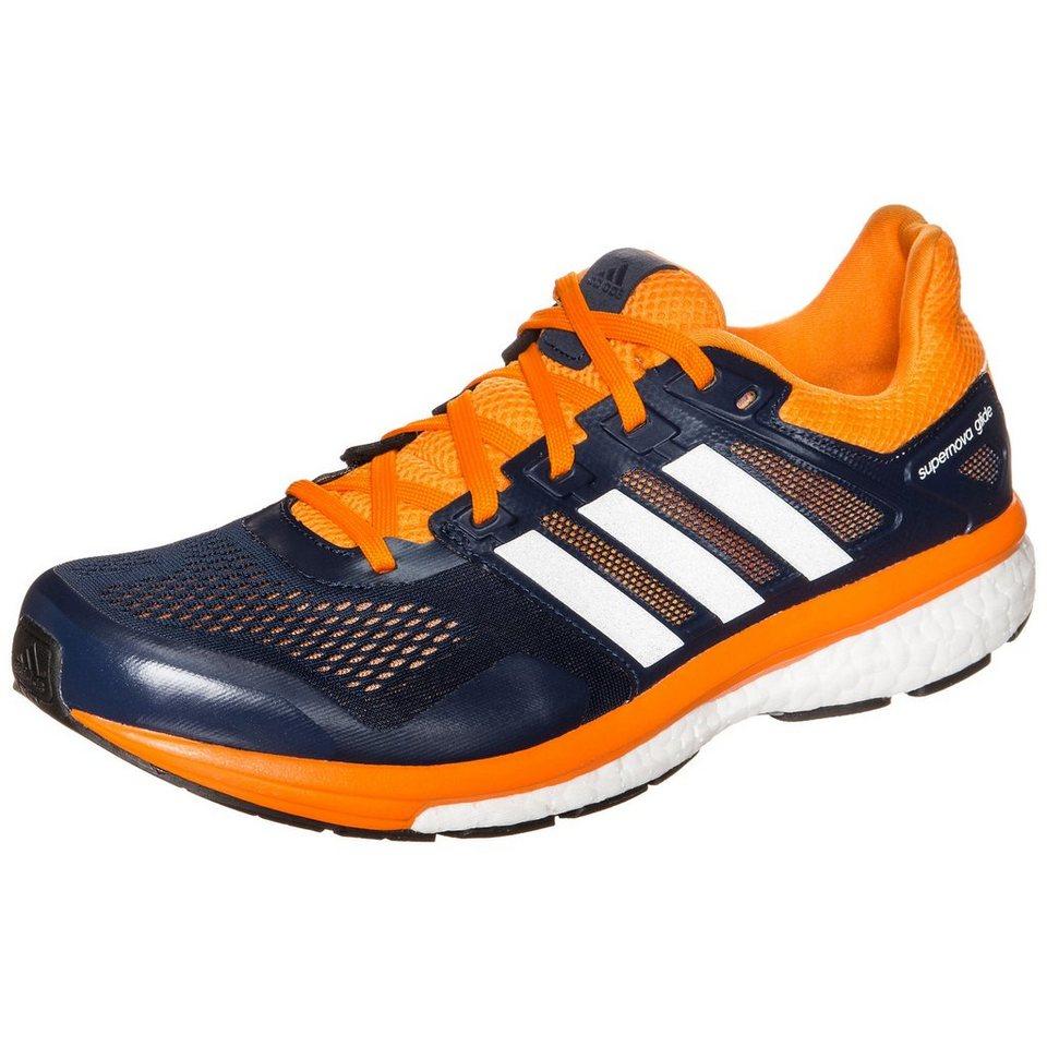 adidas Performance Supernova Glide Boost 8 Laufschuh Herren in dunkelblau / orange