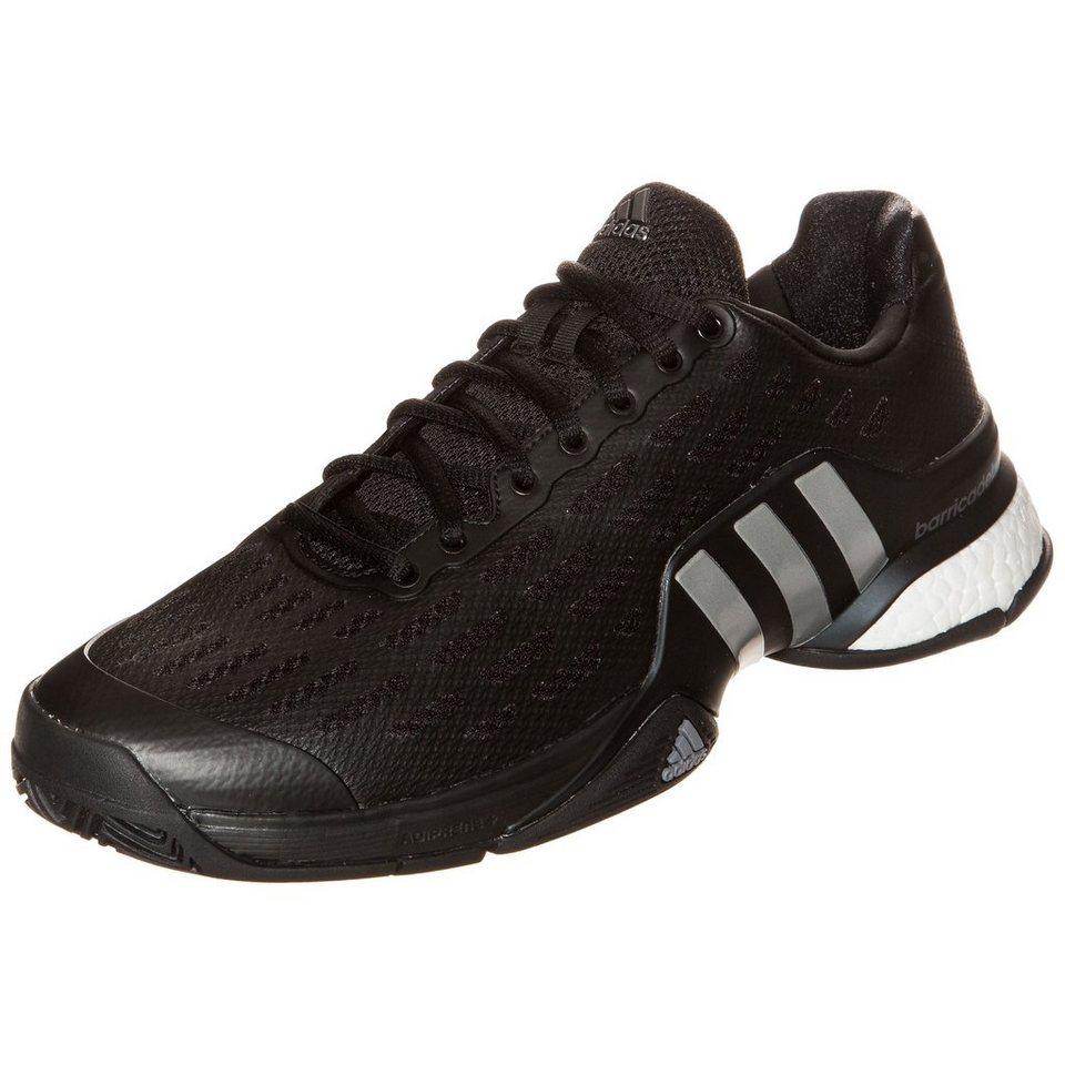 adidas Performance Barricade 2016 Boost Tennisschuh Herren in schwarz / grau