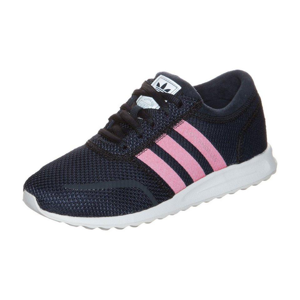 adidas Originals Los Angeles Sneaker Kinder in dunkelblau / pink