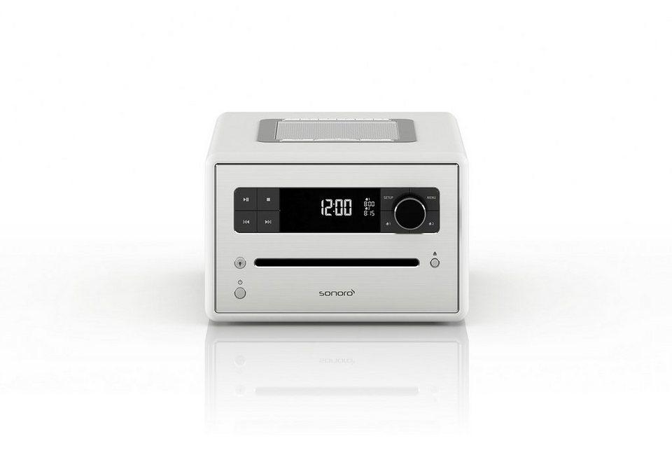 sonoro Digitalradio mit Bluetooth, CD-Player & MP3 Wiedergabe »sonoroCD 2« in weiss