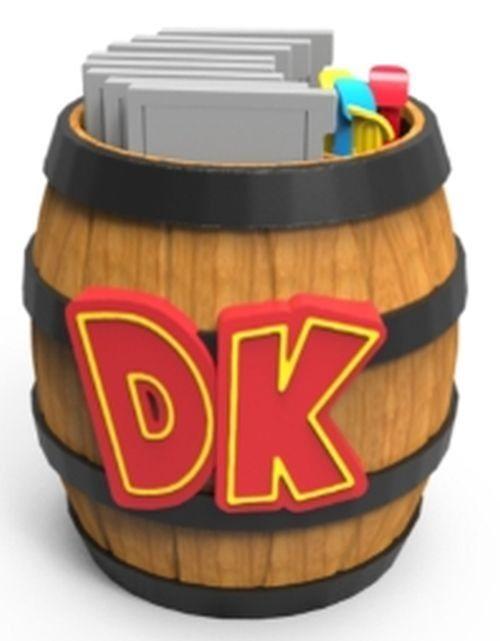 PDP Nintendo 3DS - Zubehör »3DS Donkey Kong Fass für 8 Spiele und Stylus«