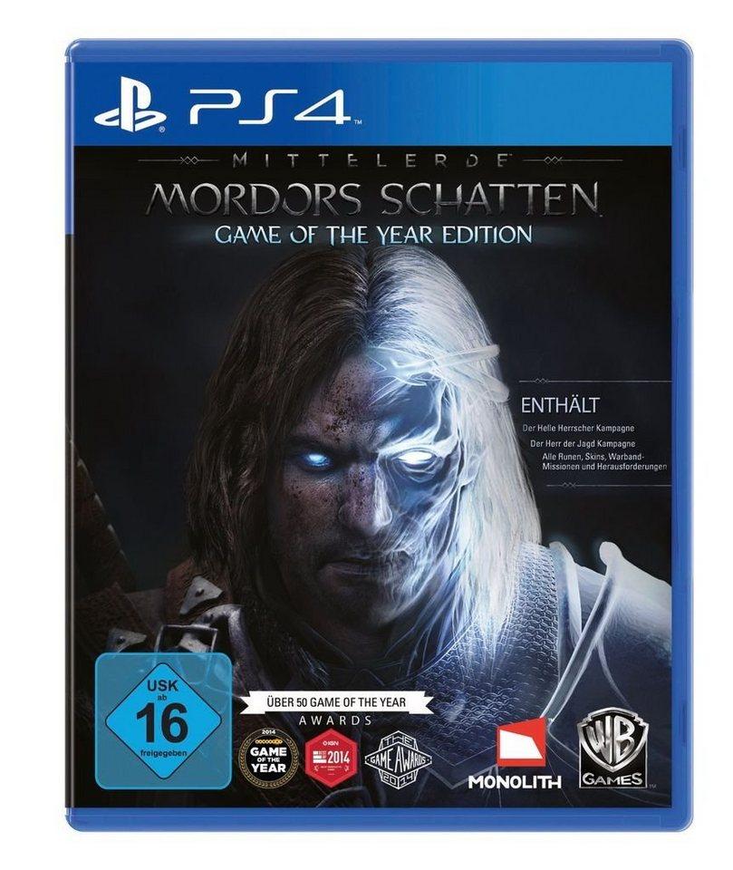 Warner Games Playstation 4 - Spiel »Mittelerde: Mordors Schatten - GOTY Edition«
