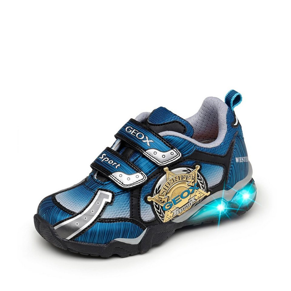 Geox Light Eclipse Halbschuh in blau/schwarz