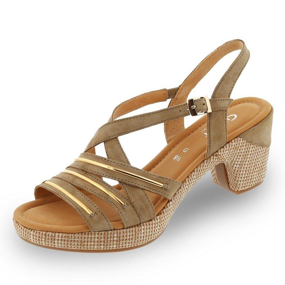 Gabor Comfort Sandalette in khaki