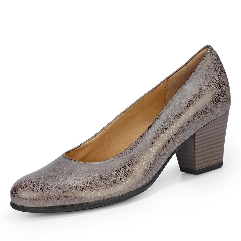 Gabor Pumps in bronze