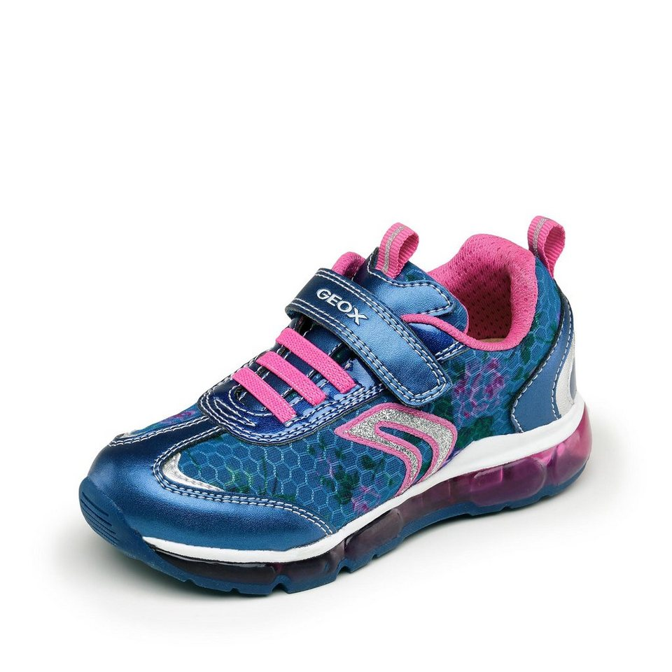 Geox Android Girl Halbschuh in marine/pink