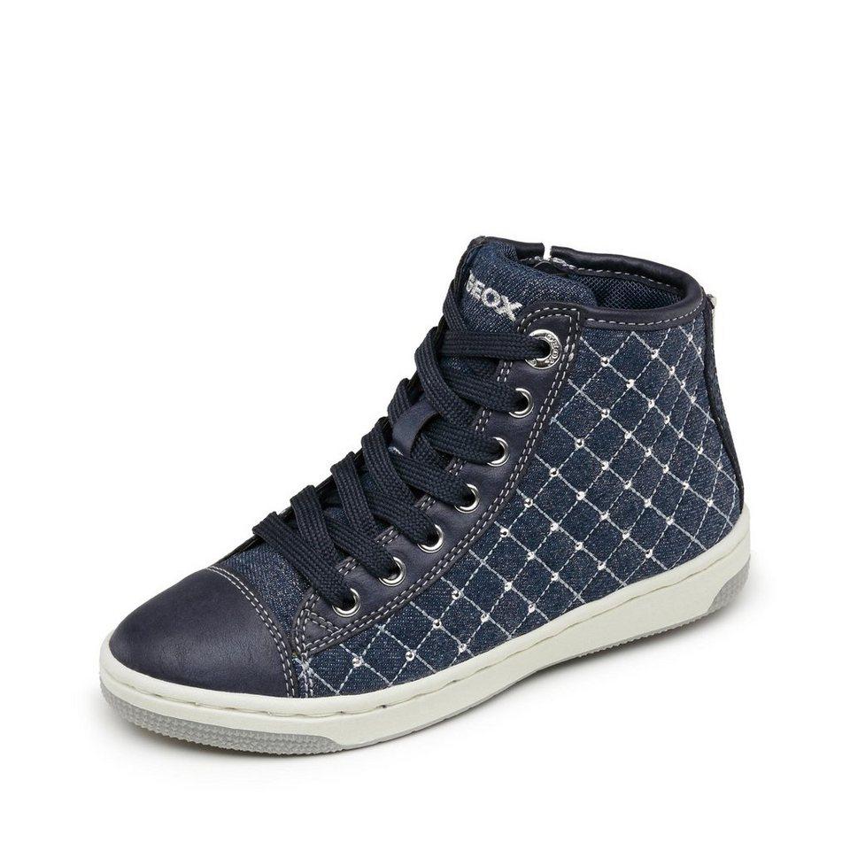 Geox Creamy Schnürbootie in jeansblau
