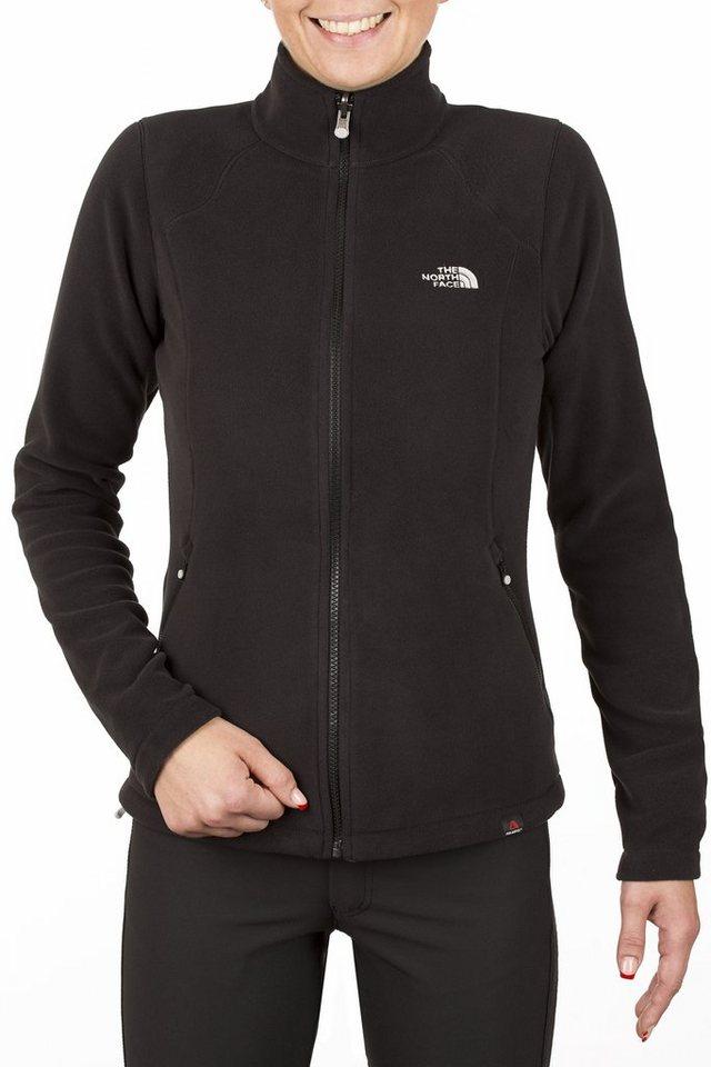 The North Face Outdoorjacke »100 Glacier Full Zip Fleece Women« in schwarz