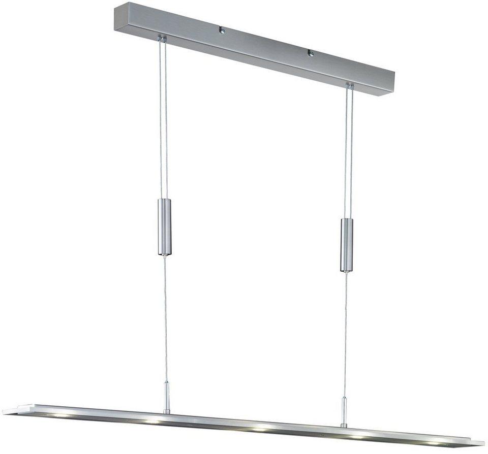 Honsel Leuchten LED-Pendelleuchte, 5flg., »LAPIS« in Metall, nickel-matt