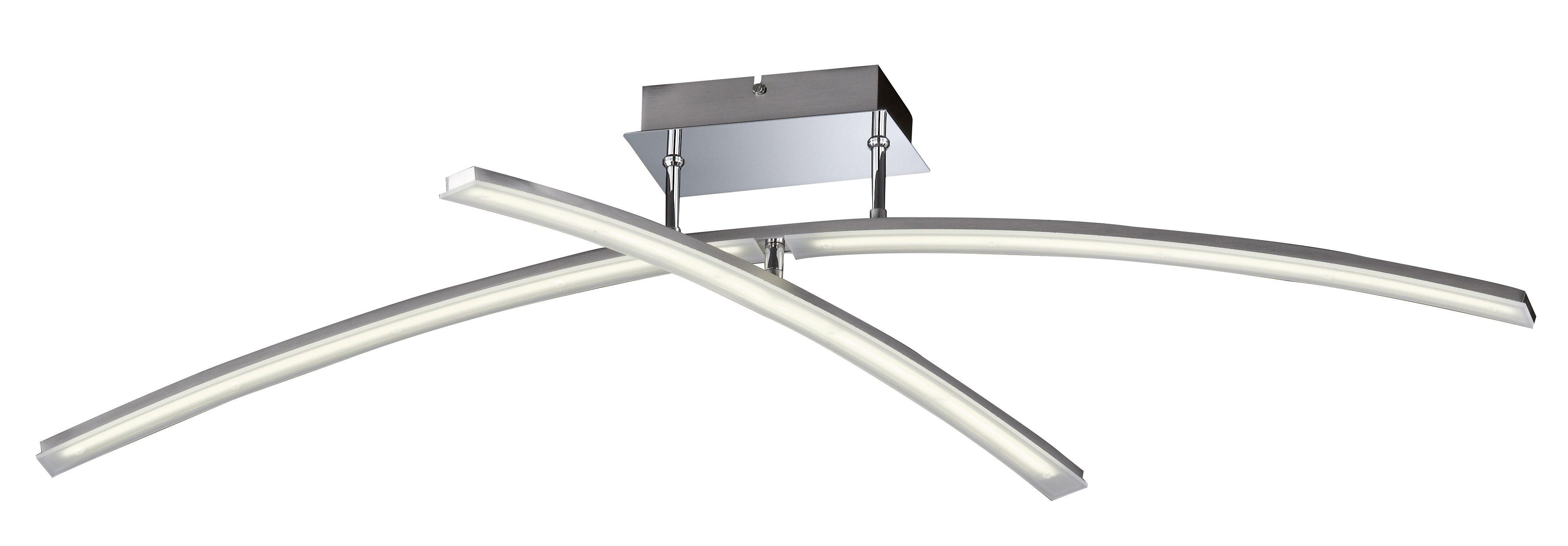 Honsel Leuchten LED-Deckenlleuchte, 2flg., »MIKADO«