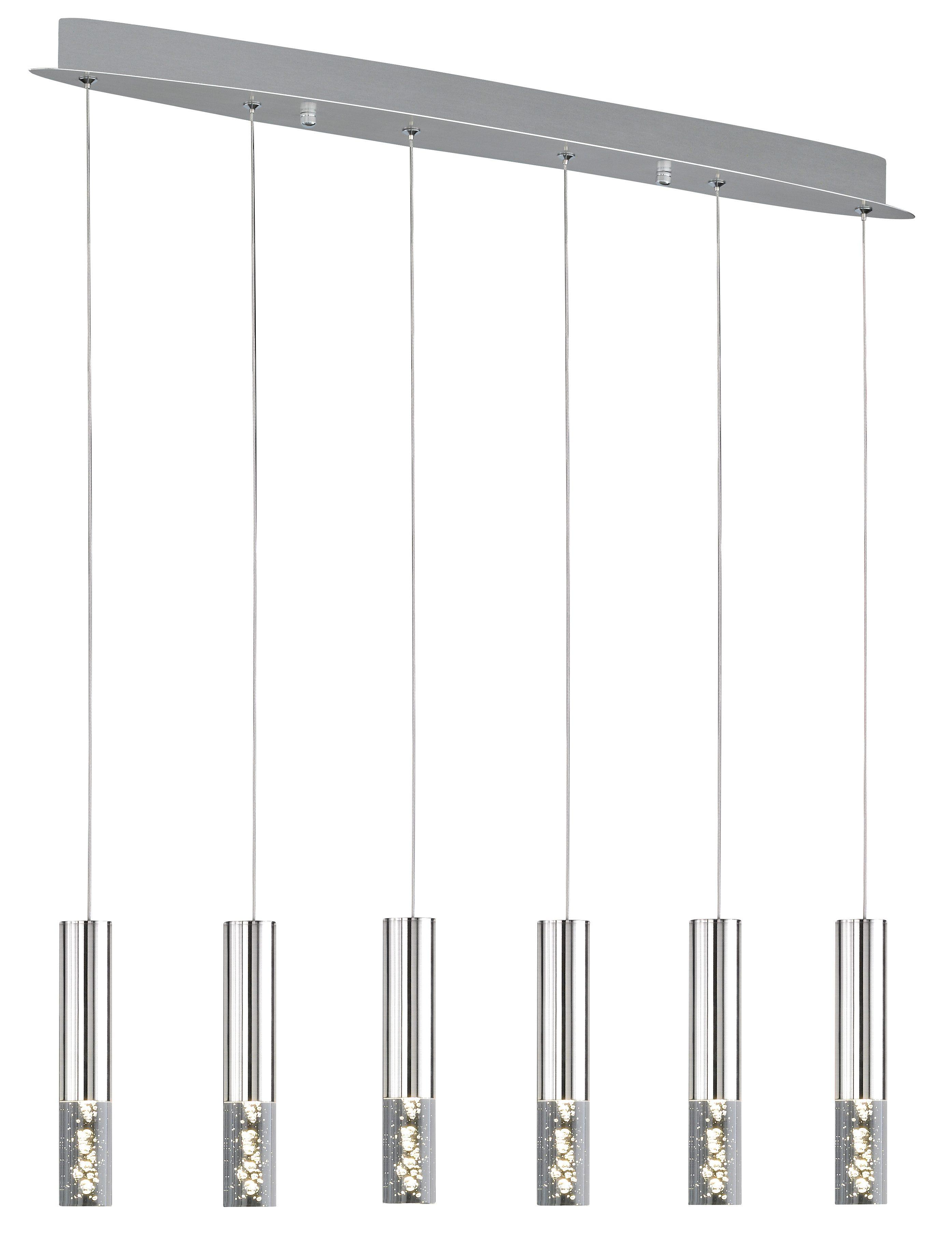 Honsel Leuchten LED Pendelleuchte »BUBBLE«, 6-flammig