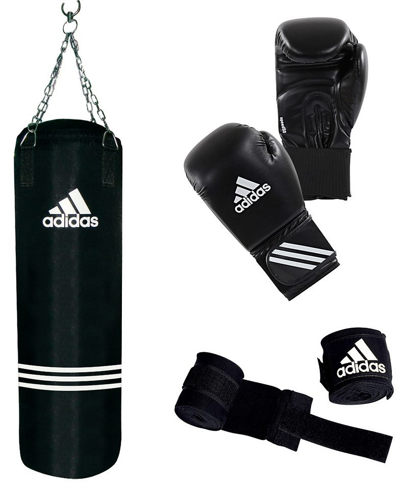 adidas Performance Set: Boxsack und Boxhandschuhe, »Performance Boxing Set«