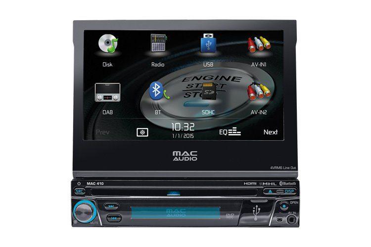 Mac Audio MAC 410, Multimedia-Receiver