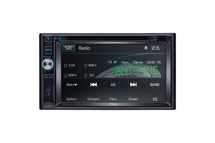 """Mac Audio MAC 420, 2 DIN 16 cm / 6.2"""" Widescreen Multimedia-Receiver"""