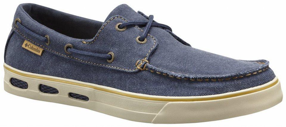 Columbia Freizeitschuh »Vulc N Vent Boat Canvas Shoes Men« in blau