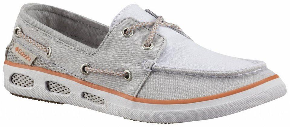 Columbia Freizeitschuh »Vulc N Vent Boat Canvas Shoes Women« in grau