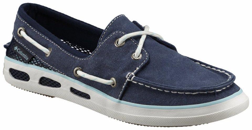Columbia Freizeitschuh »Vulc N Vent Boat Canvas Shoes Women« in blau
