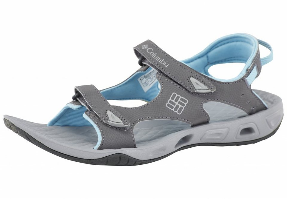 Columbia Sandale »Sunbreeze Vent Sandals Women shale/« in grau