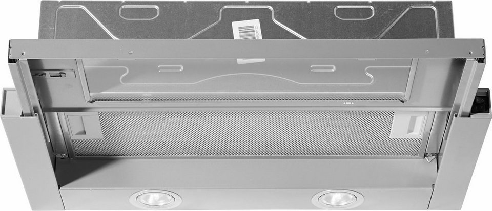 Siemens Flachschirmhaube LI63LA520, C in silbermetallic