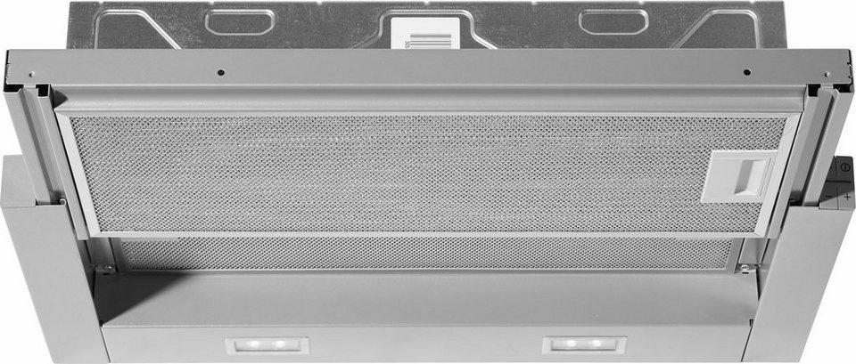 Siemens Flachschirmhaube LI64LA530, A in silbermetallic