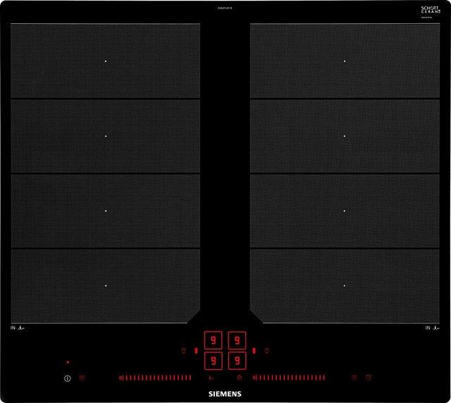 SIEMENS Flex-Induktions-Kochfeld von SCHOTT CERAN iQ700 EX601LXC1E, mit powerMove Plus