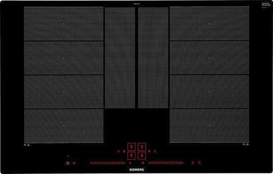 SIEMENS Flex-Induktions-Kochfeld von SCHOTT CERAN® iQ700 EX801LYC1E, mit powerMove Plus