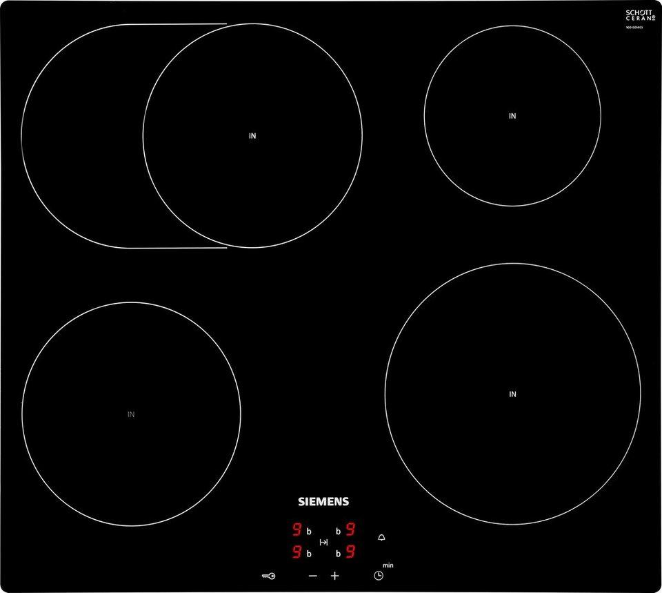 Siemens Induktions-Kochfeld EI601CFB1E