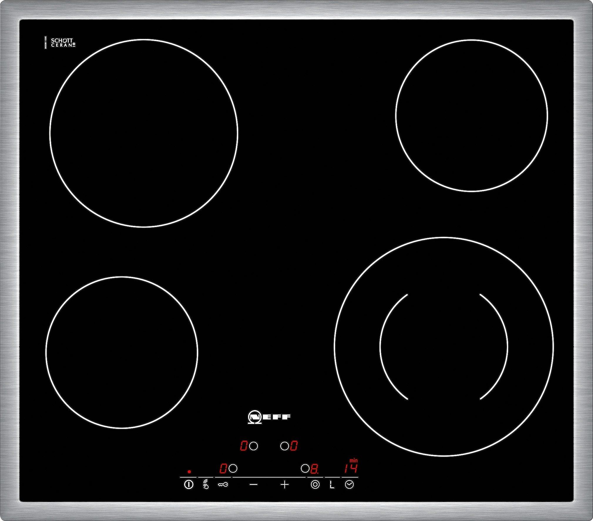 Neff Autarkes Glaskeramik-Kochfeld mit TouchControl Bedienung TD 1341 N / T13D41N2
