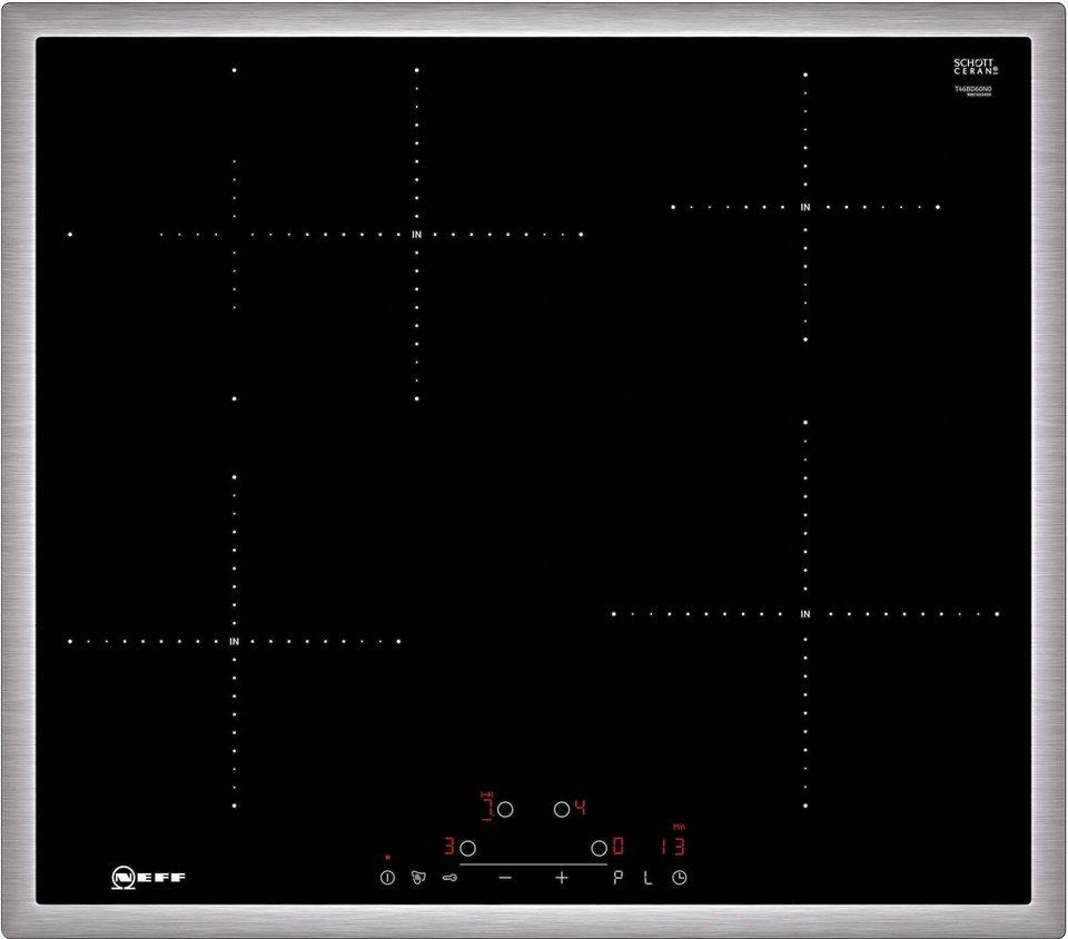 Neff Autarkes Induktions-Kochfeld mit TouchControl Bedienung TBD 4660 N N / T46BD60N0 in Edelstahl