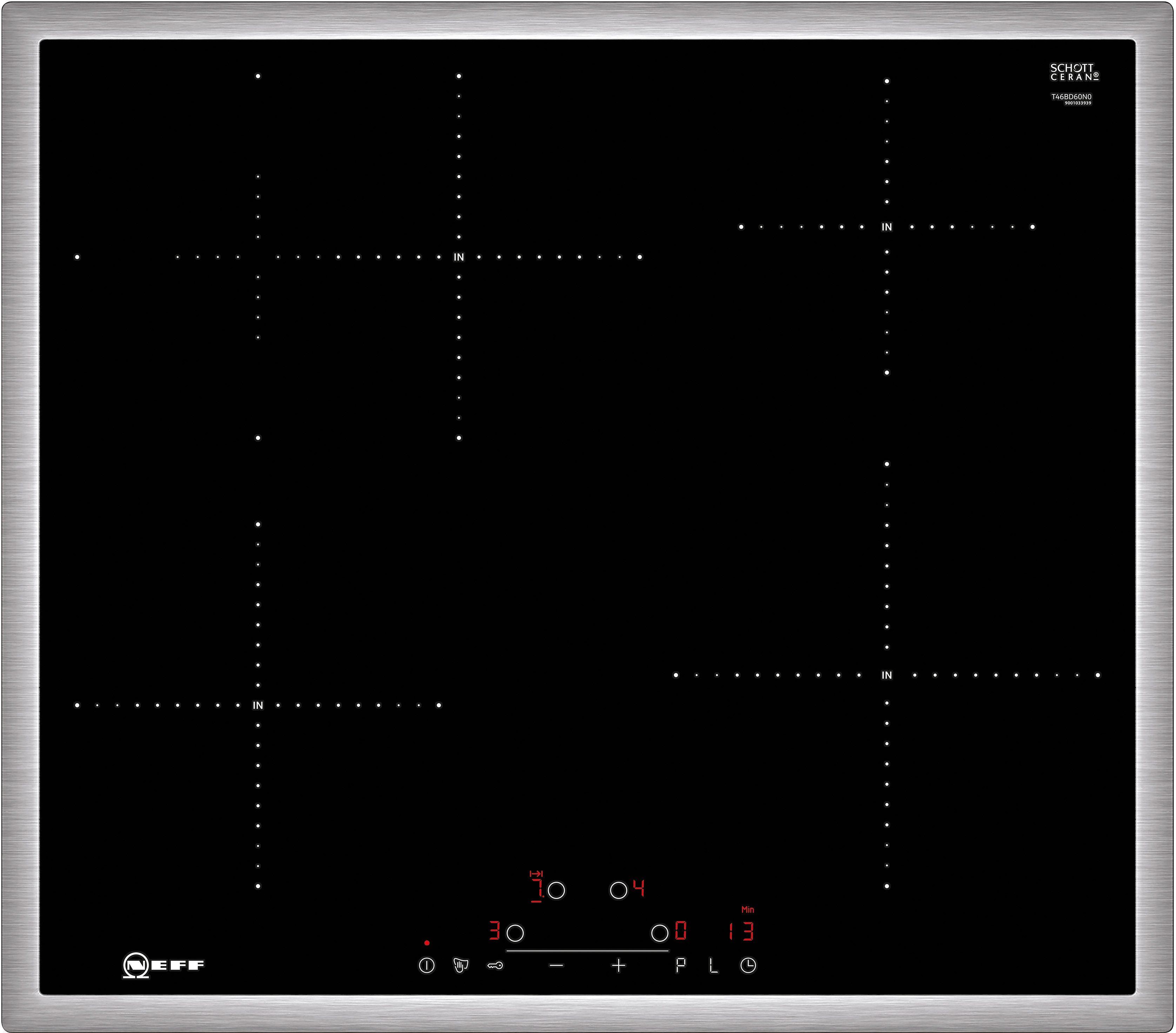 Neff Autarkes Induktions-Kochfeld mit TouchControl Bedienung TBD 4660 N N / T46BD60N0