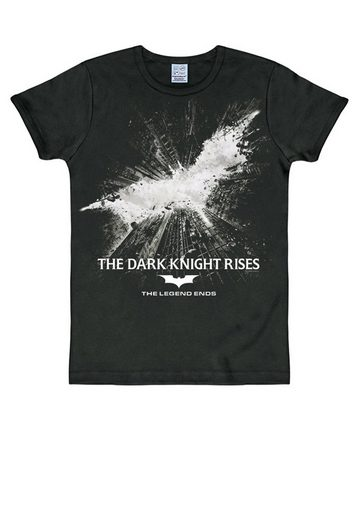 LOGOSHIRT T-Shirt mit tollem Batman-Logo »Batman The Dark Knight Rises«