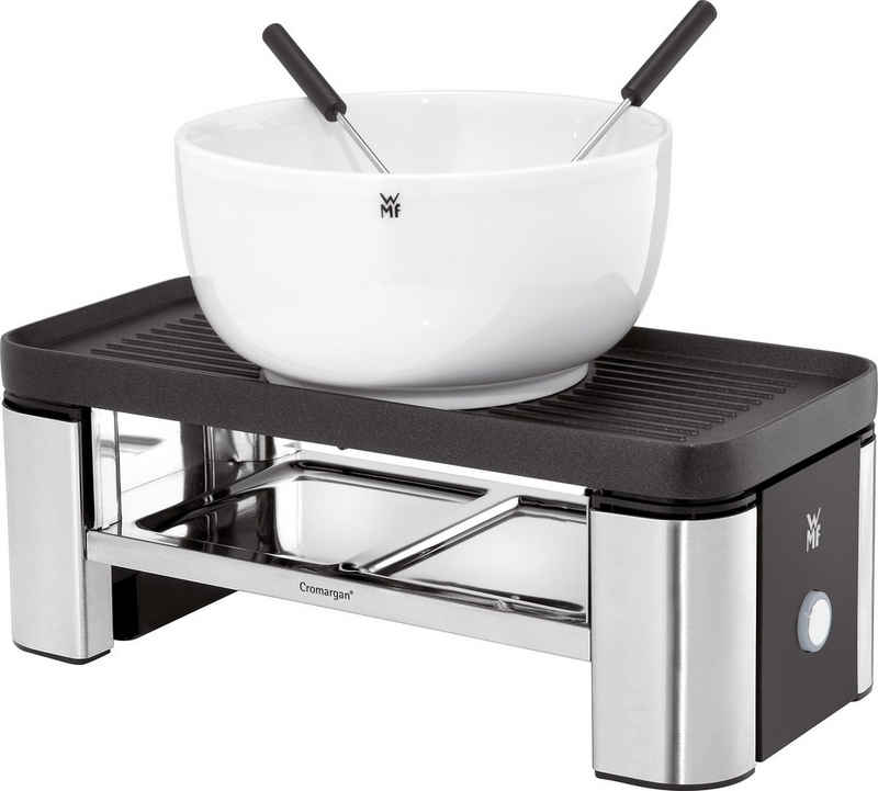 WMF Raclette und Fondue-Set KÜCHENminis® für Zwei, 3 Raclettepfännchen, 370 W