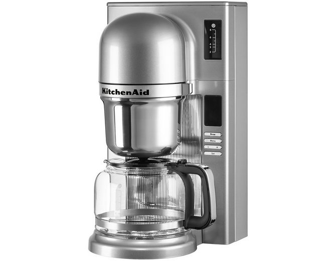 KitchenAid® Filterkaffeemaschine 5KCM0802ECU, kontur-silber