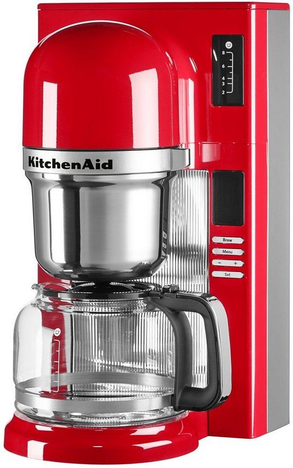 KitchenAid® Filterkaffeemaschine 5KCM0802EER, empire rot in empire rot