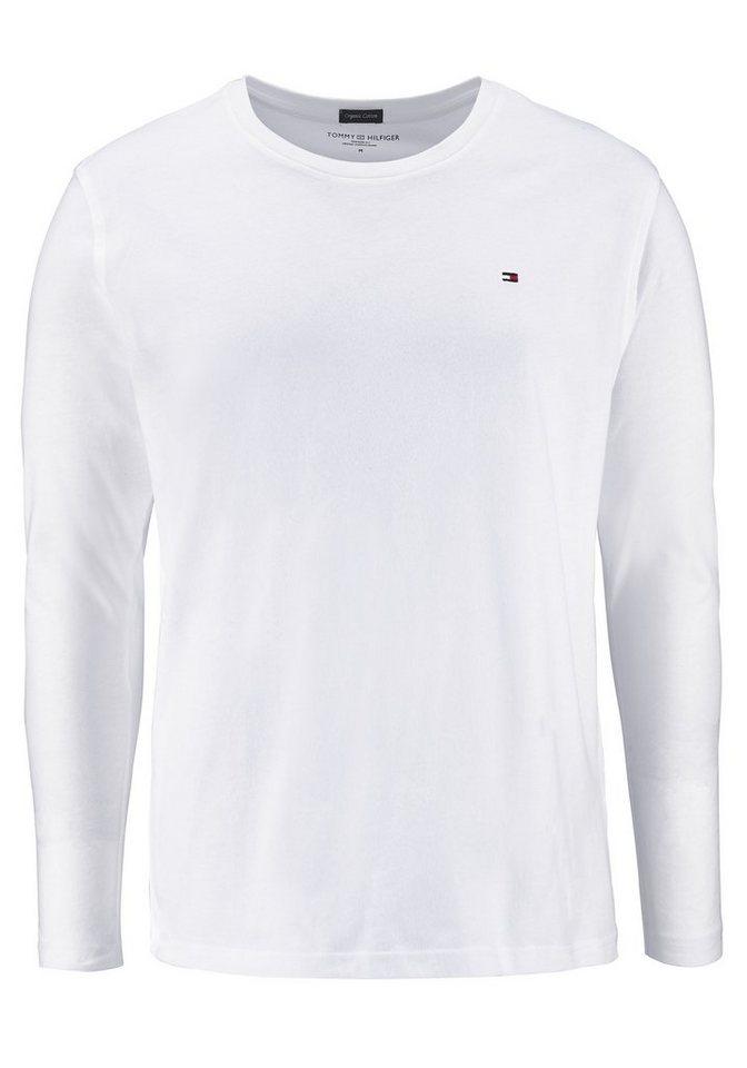 Tommy Hilfiger Langarmshirt in weiß